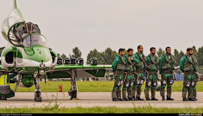 Saudi Arabia - Air Force: Saudi Hawks - aircraft at Gdynia- Babie Doły (Oksywie)