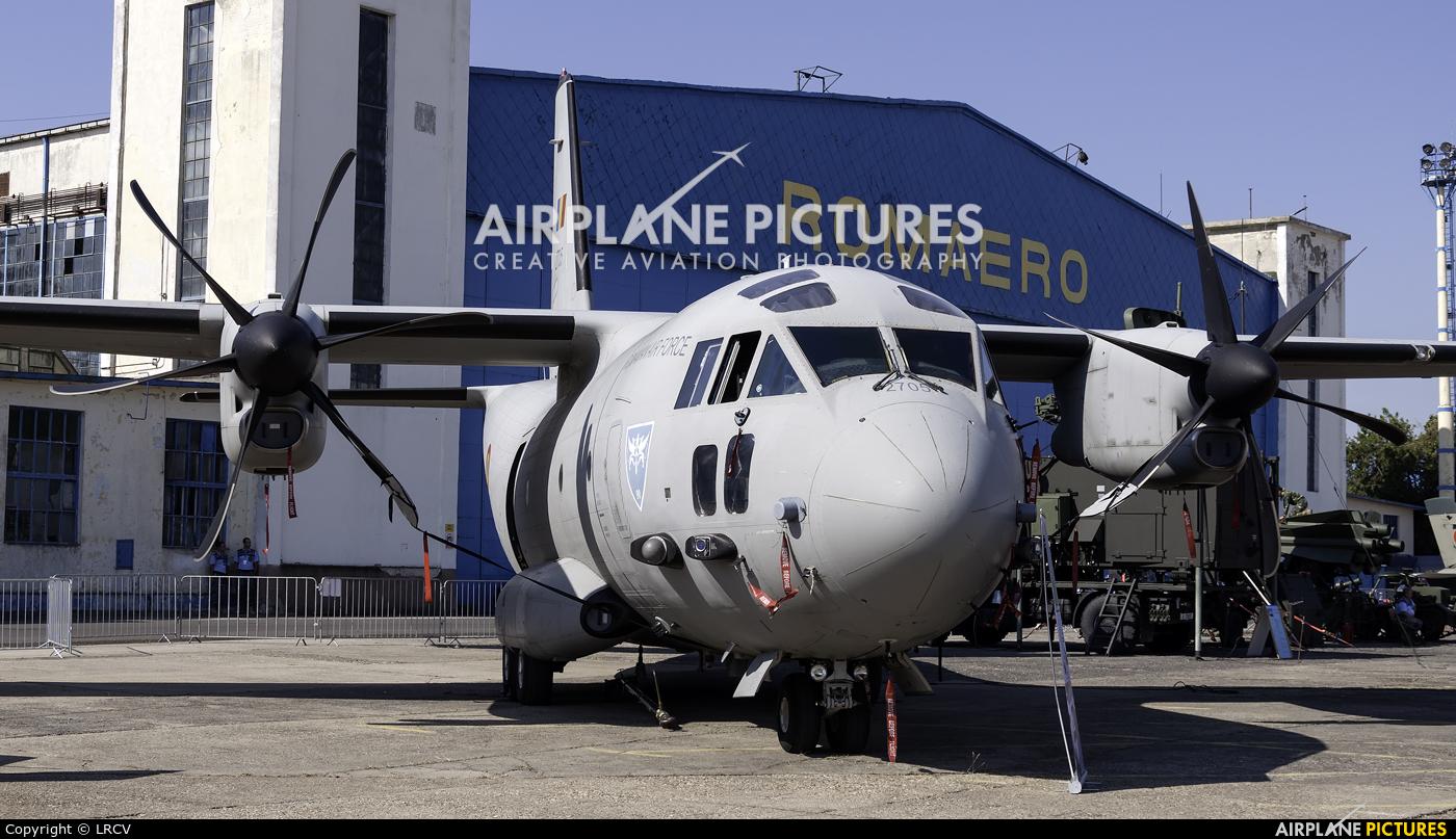 Romania - Air Force 2705 aircraft at Bucharest - Aurel Vlaicu Intl