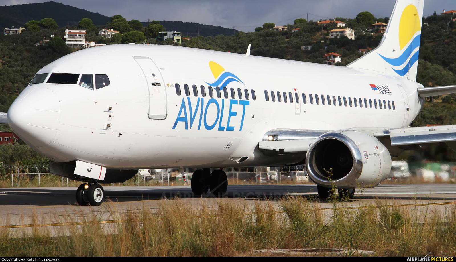 Aviolet YU-ANK aircraft at Skiathos