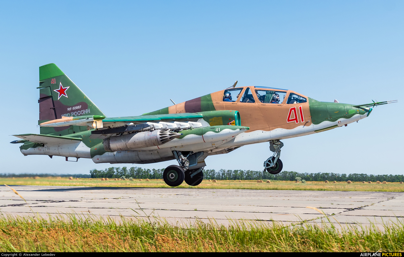 Russia - Air Force 41 aircraft at Undisclosed Location