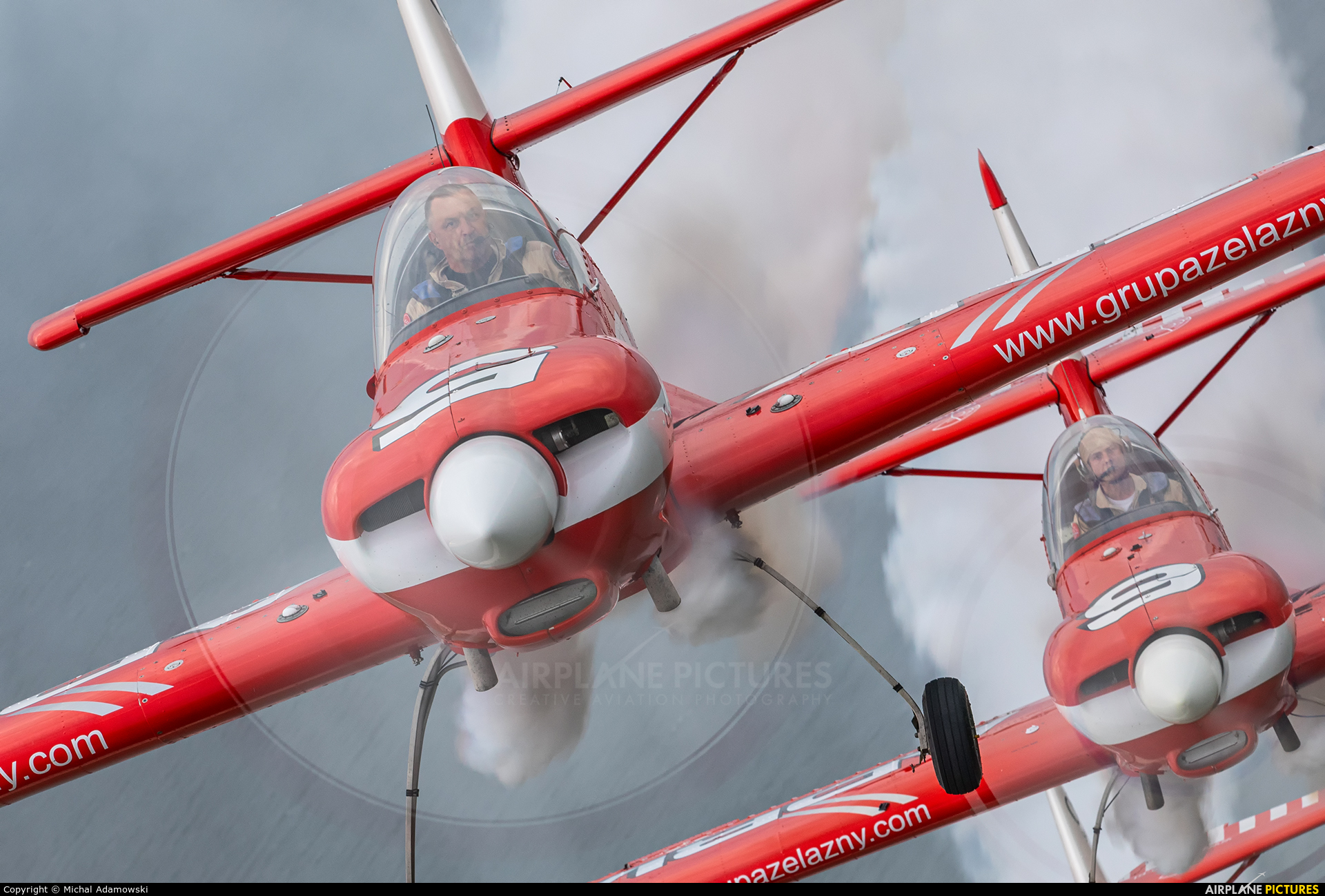 Grupa Akrobacyjna Żelazny - Acrobatic Group SP-AUD aircraft at In Flight - Poland