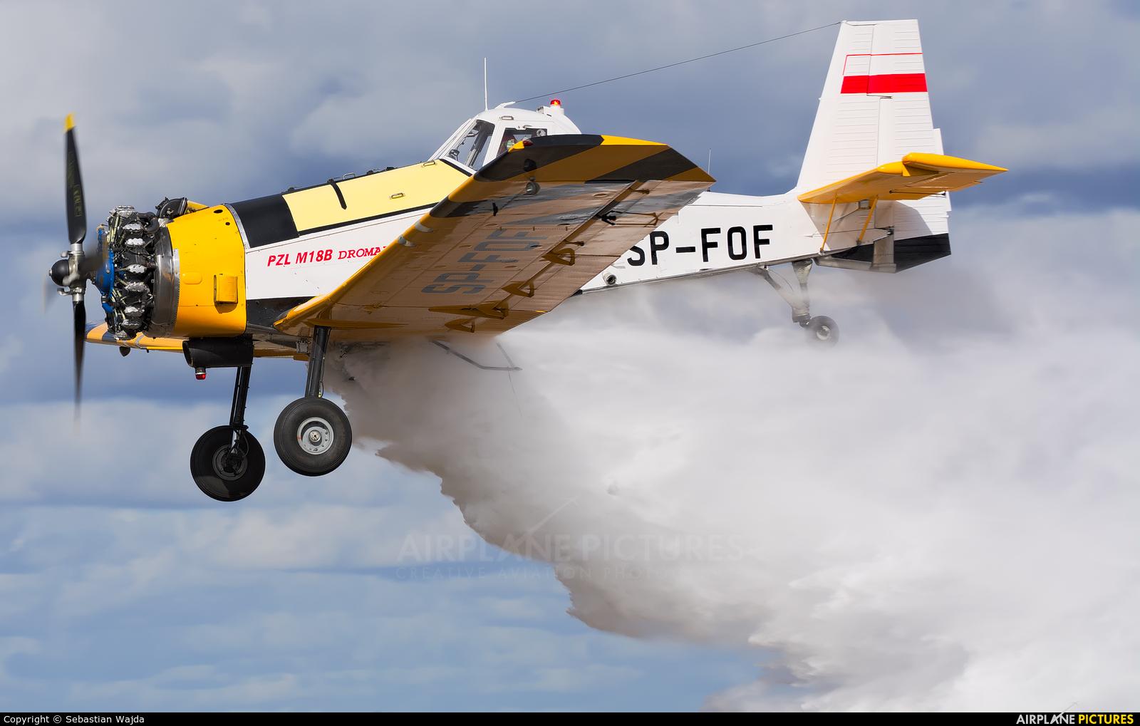 Aerogryf SP-FOF aircraft at Off Airport - Poland