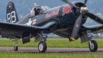 OE-EAS - Red Bull Vought F4U Corsair aircraft