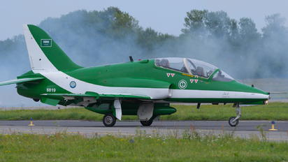 8819 - Saudi Arabia - Air Force: Saudi Hawks British Aerospace Hawk 65 / 65A