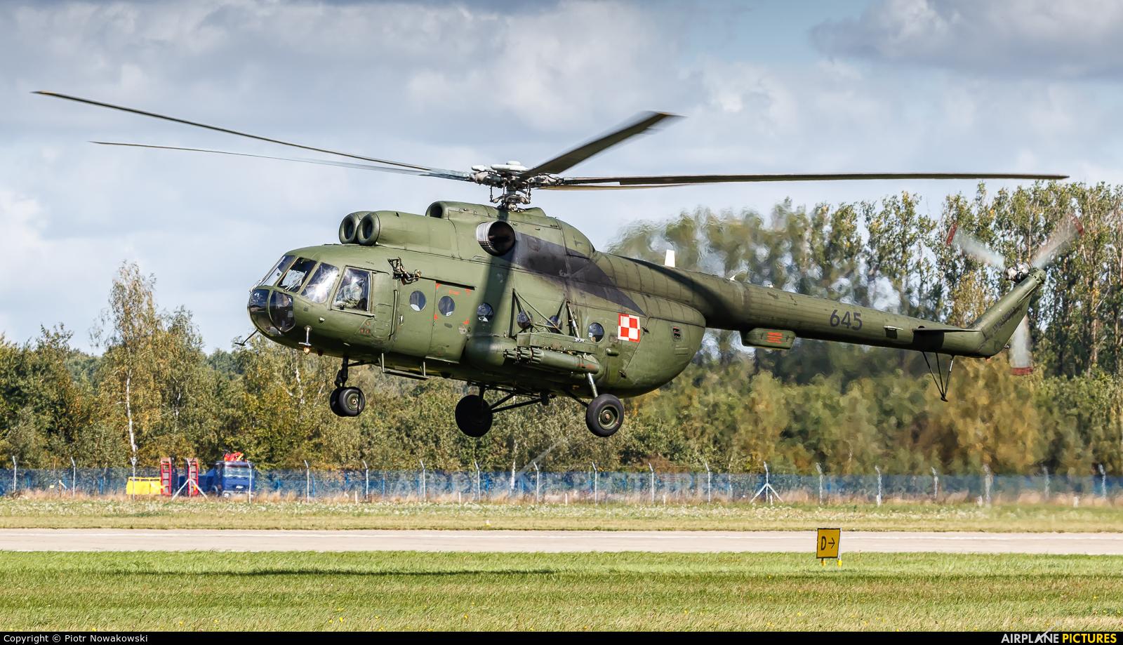 Poland - Army 645 aircraft at Mińsk Mazowiecki