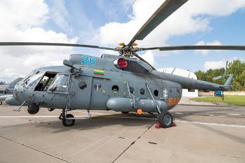 26 - Lithuania - Air Force Mil Mi-8T