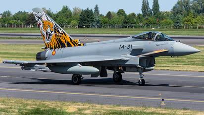 16-73 - Spain - Air Force Eurofighter Typhoon