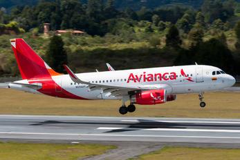 N694AV - Avianca Airbus A319