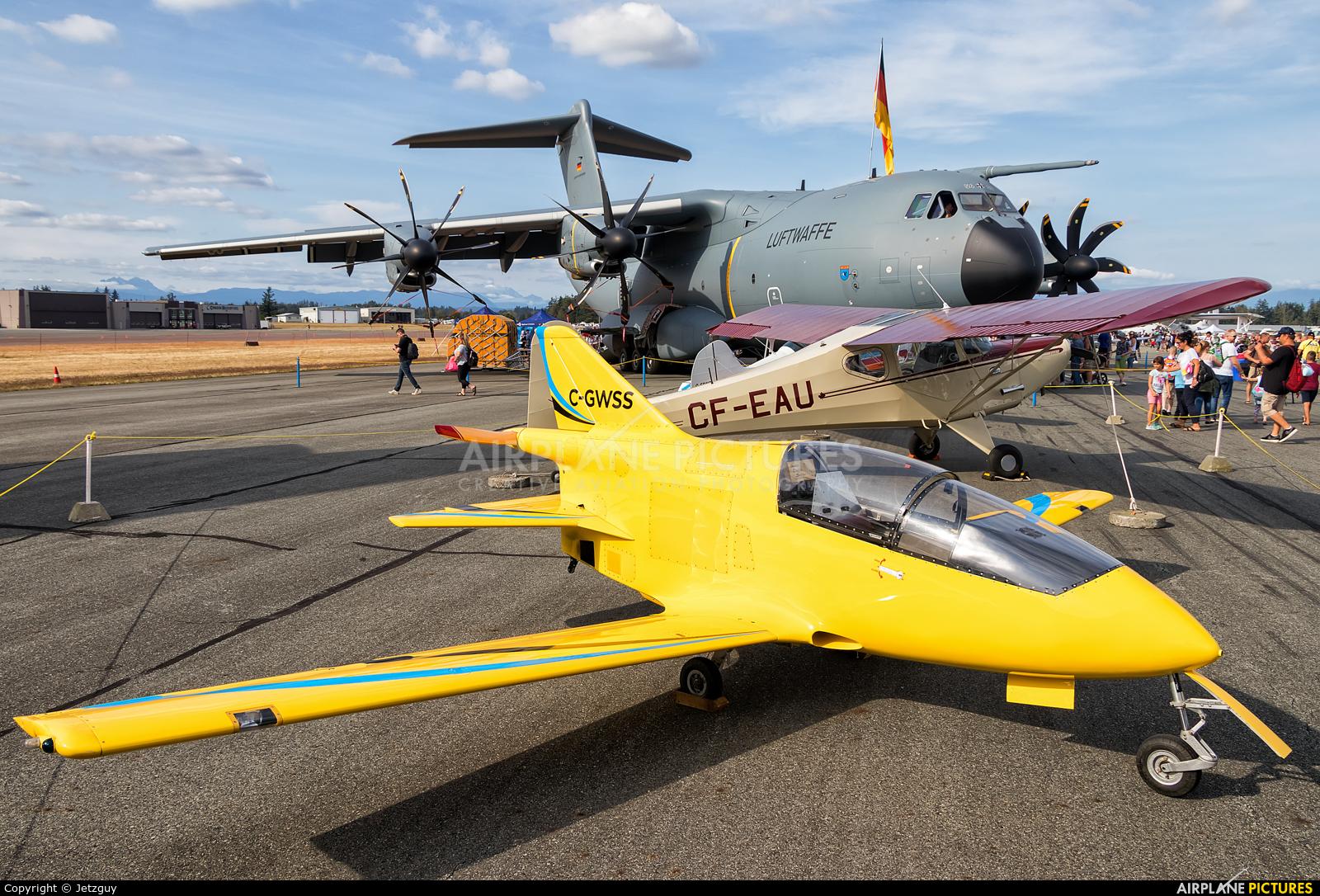 Private C-GWSS aircraft at Abbotsford, BC