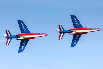 """F-TEMO - France - Air Force """"Patrouille de France"""" Dassault - Dornier Alpha Jet E"""