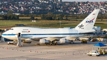"Rare visit of NASA Boeing 747SP ""SOFIA"" to Stuttgart title="