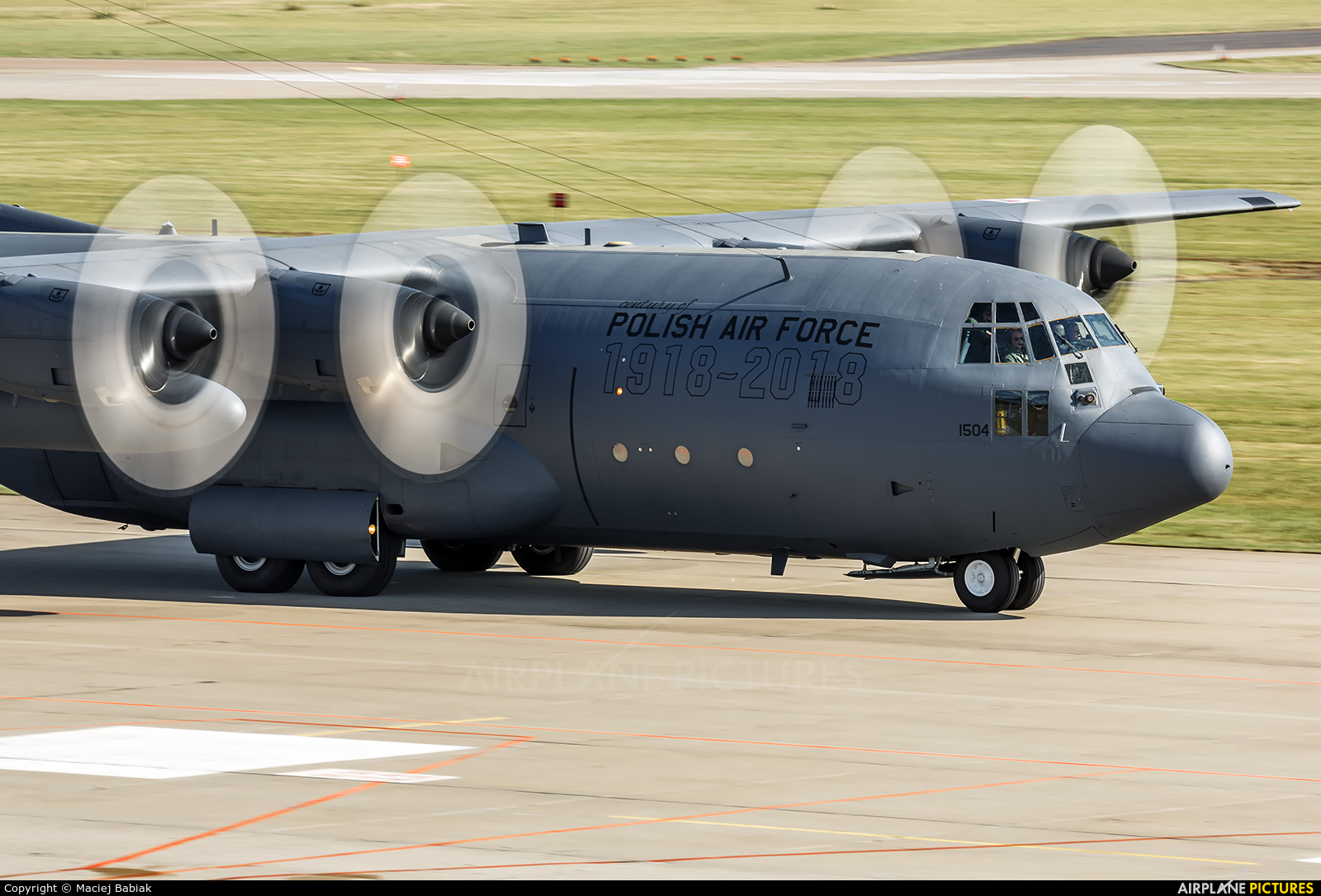 Poland - Air Force 1504 aircraft at Świdwin
