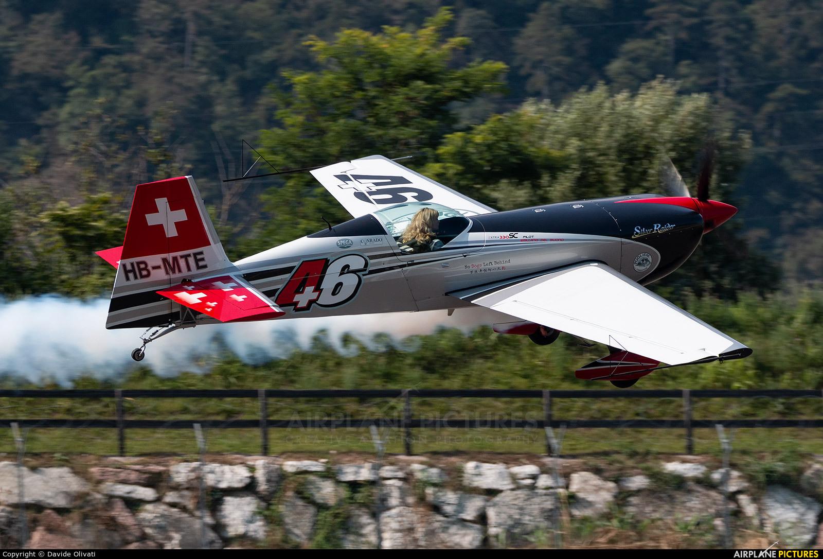Private HB-MTE aircraft at Trento - Mattarello