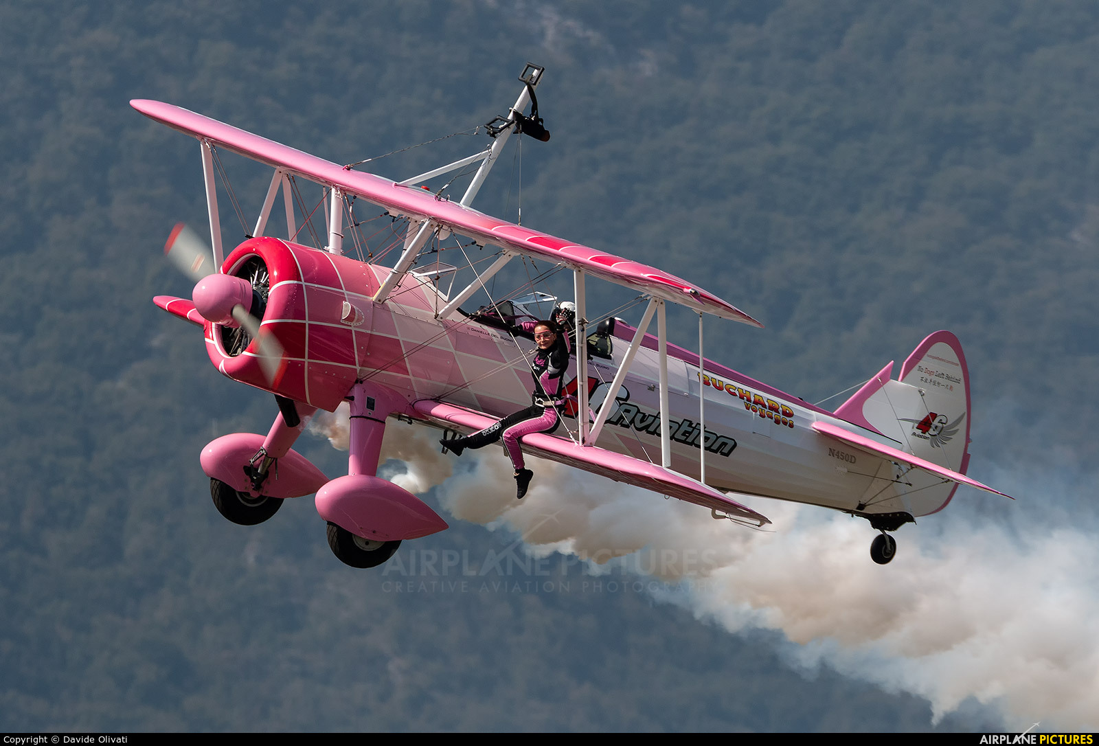 Private N450D aircraft at Trento - Mattarello