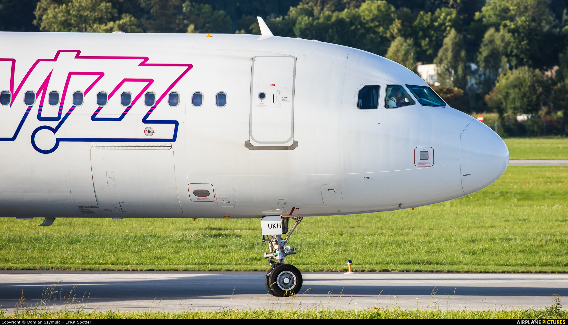 Wizz Air UK G-WUKH aircraft at Kraków - John Paul II Intl