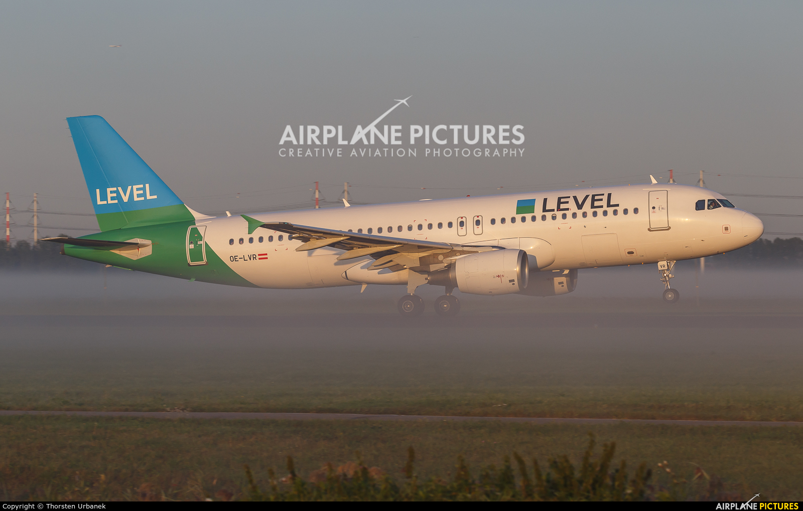 LEVEL OE-LVR aircraft at Amsterdam - Schiphol