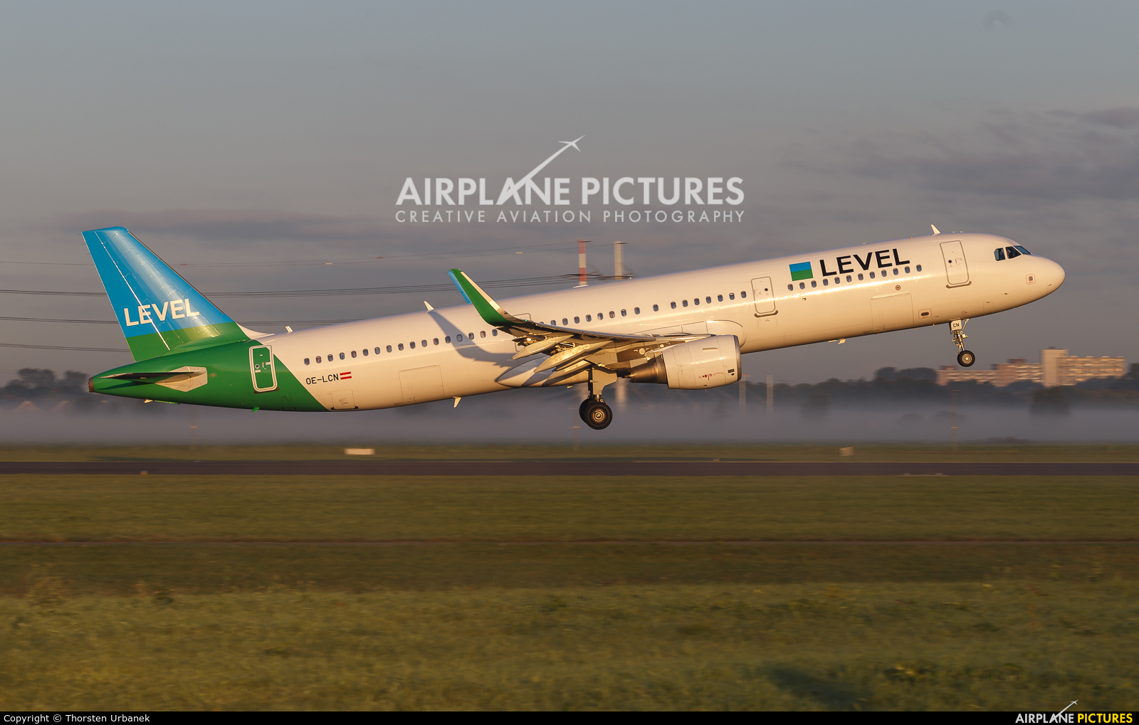 LEVEL OE-LCN aircraft at Amsterdam - Schiphol