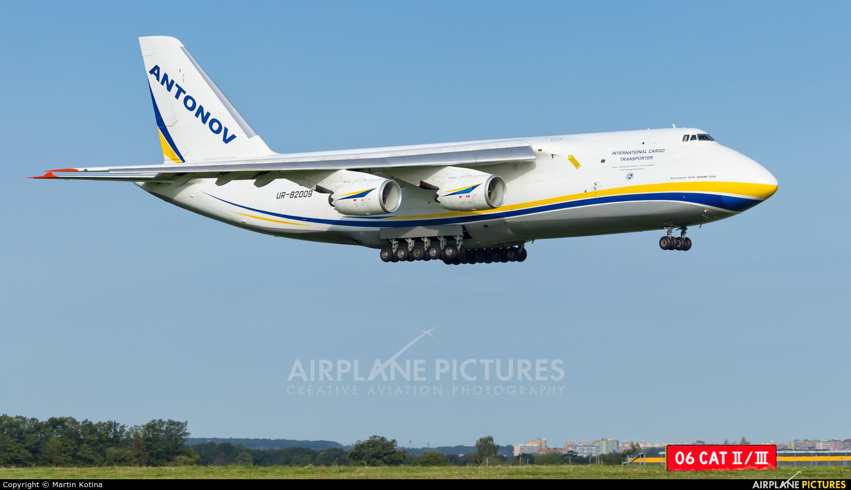 Antonov Airlines /  Design Bureau UR-82009 aircraft at Prague - Václav Havel