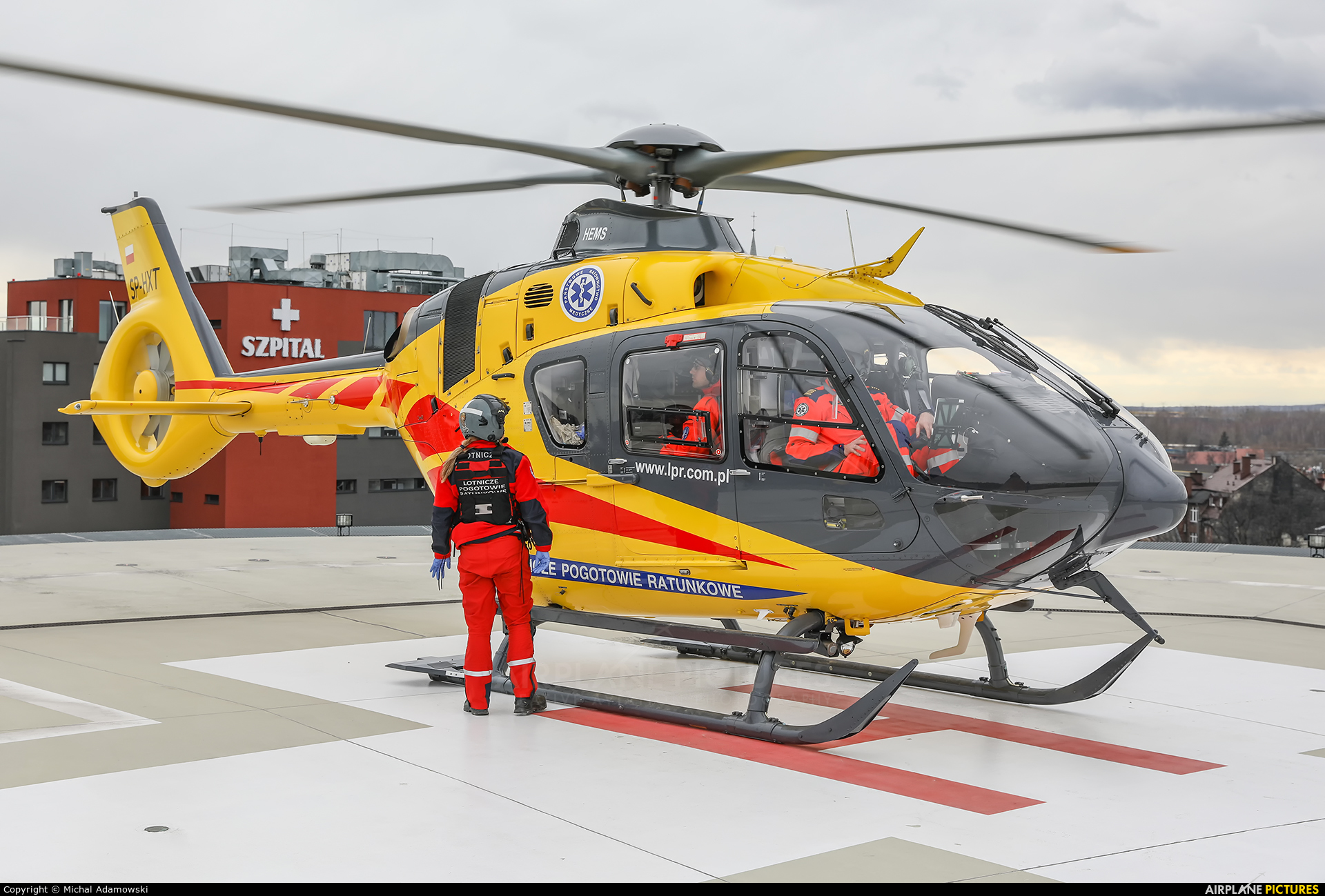 Polish Medical Air Rescue - Lotnicze Pogotowie Ratunkowe SP-HXT aircraft at Undisclosed location