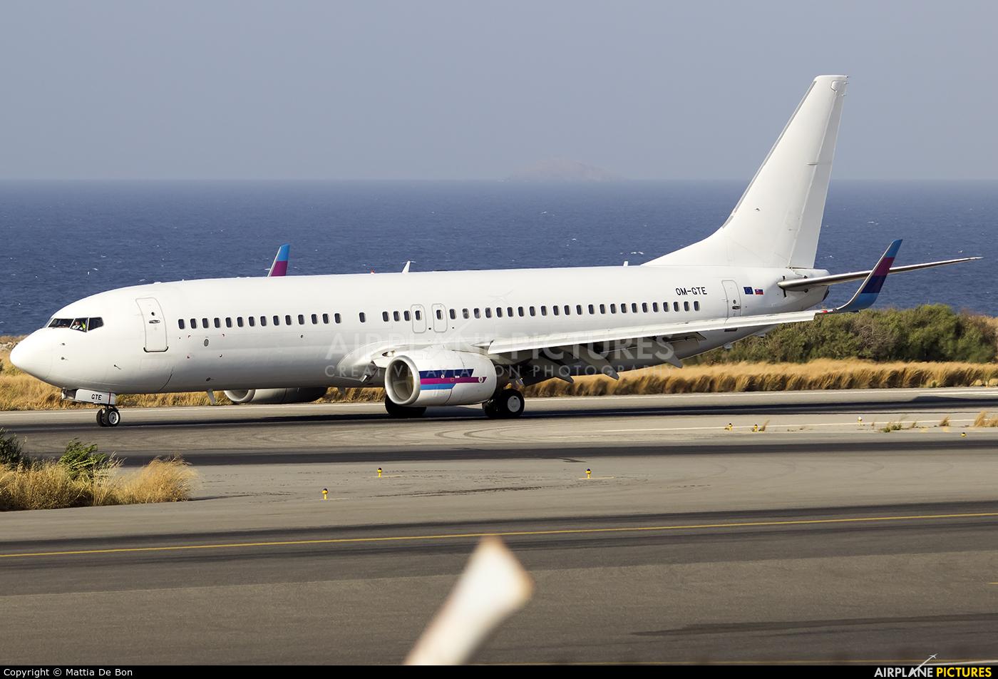 Go2Sky Airline OM-GTE aircraft at Heraklion - Nikos Kazantzakis