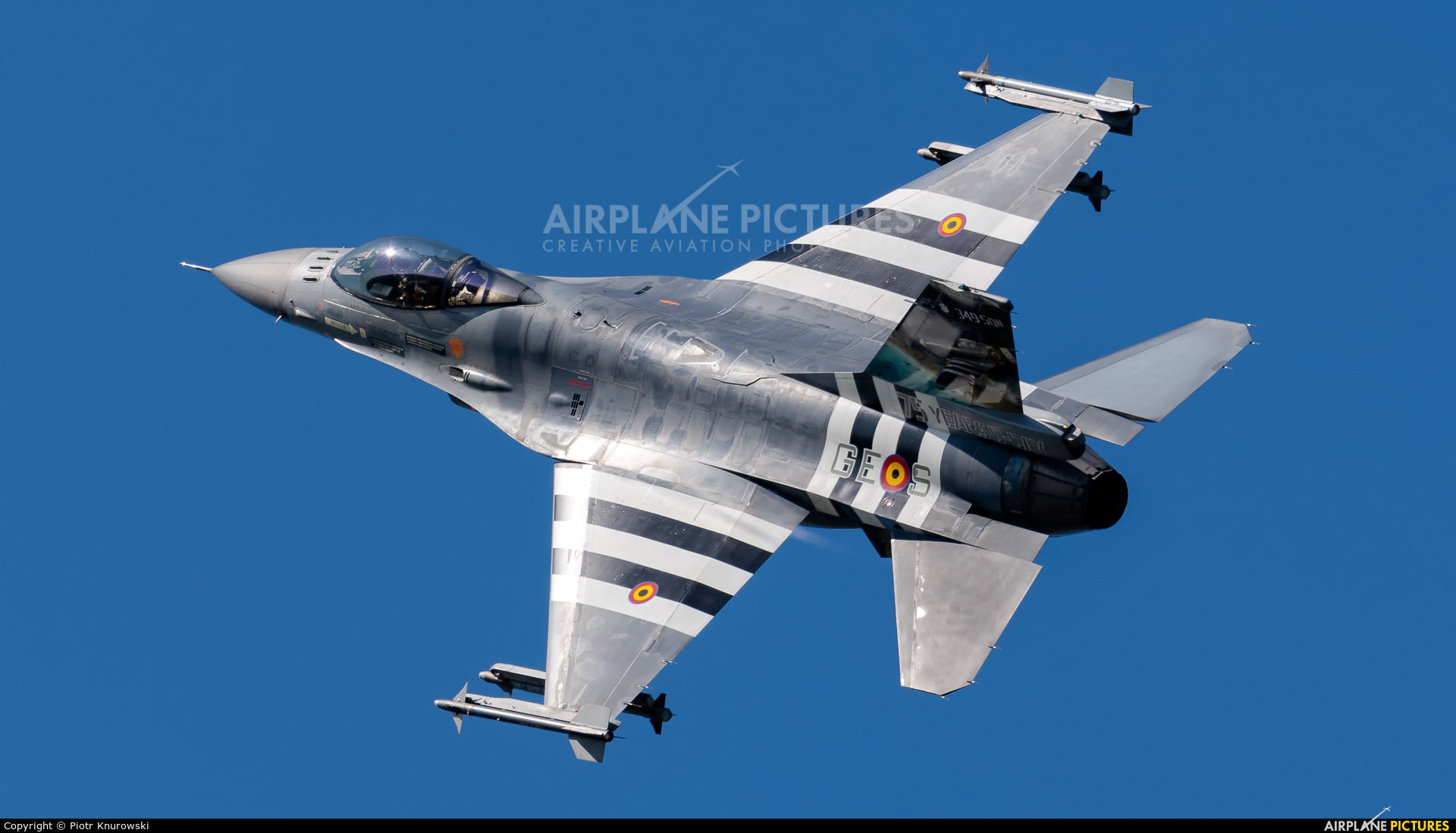 Belgium - Air Force FA-124 aircraft at Kleine Brogel