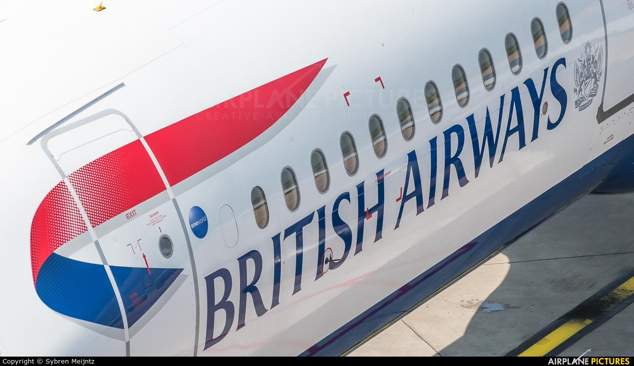 British Airways G-EUXI aircraft at Düsseldorf