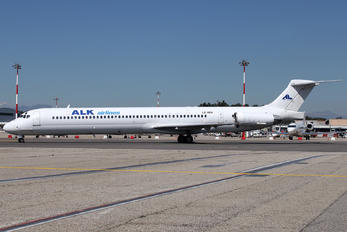 LZ-ADV - ALK Airlines McDonnell Douglas MD-82