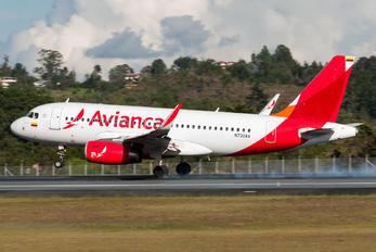N730AV - Avianca Airbus A319