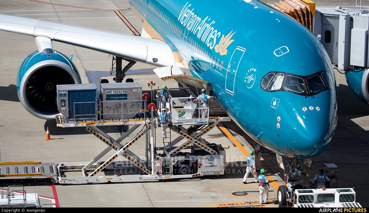 Vietnam Airlines VN-A896 aircraft at Tokyo - Narita Intl