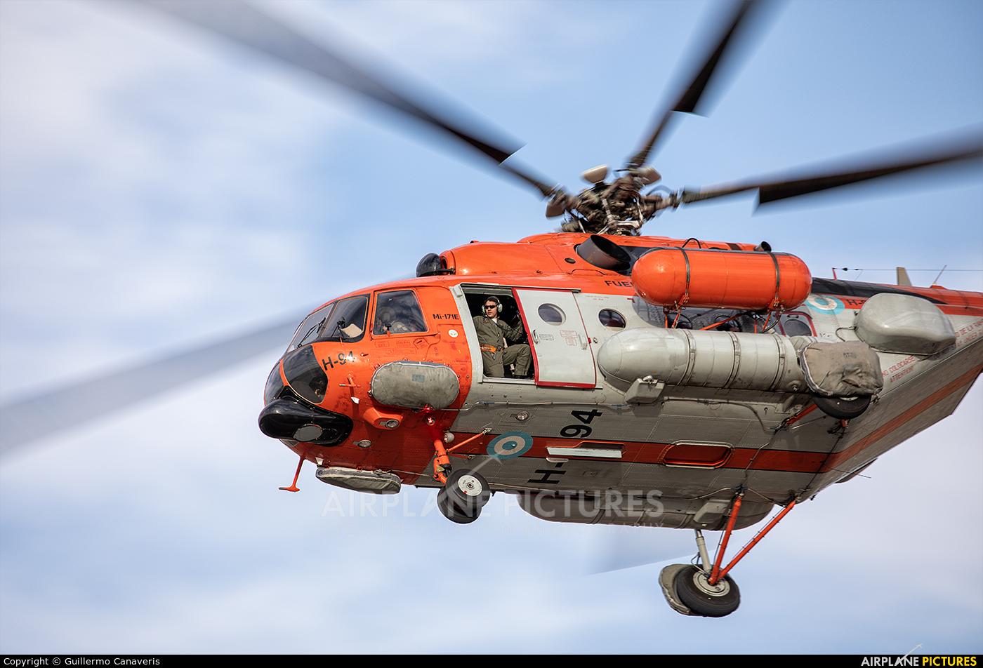 Argentina - Air Force H-94 aircraft at Rio Cuarto - Area de Material