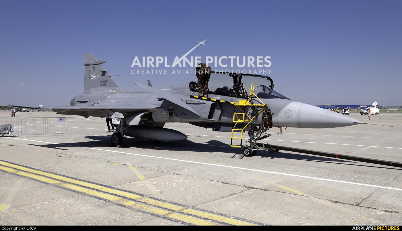 Hungary - Air Force 44 aircraft at Bucharest - Aurel Vlaicu Intl