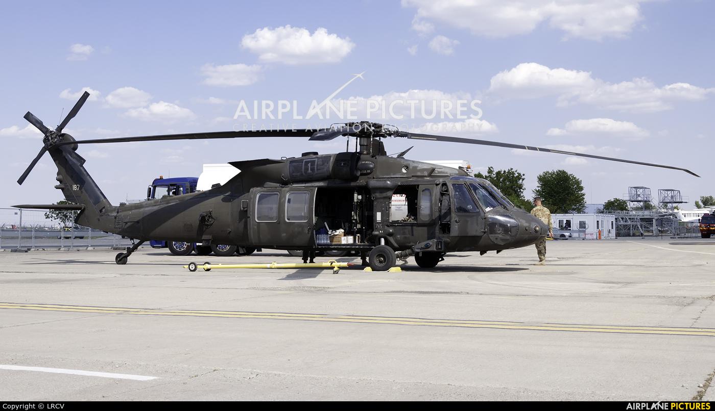 USA - Army 09-20187 aircraft at Bucharest - Aurel Vlaicu Intl
