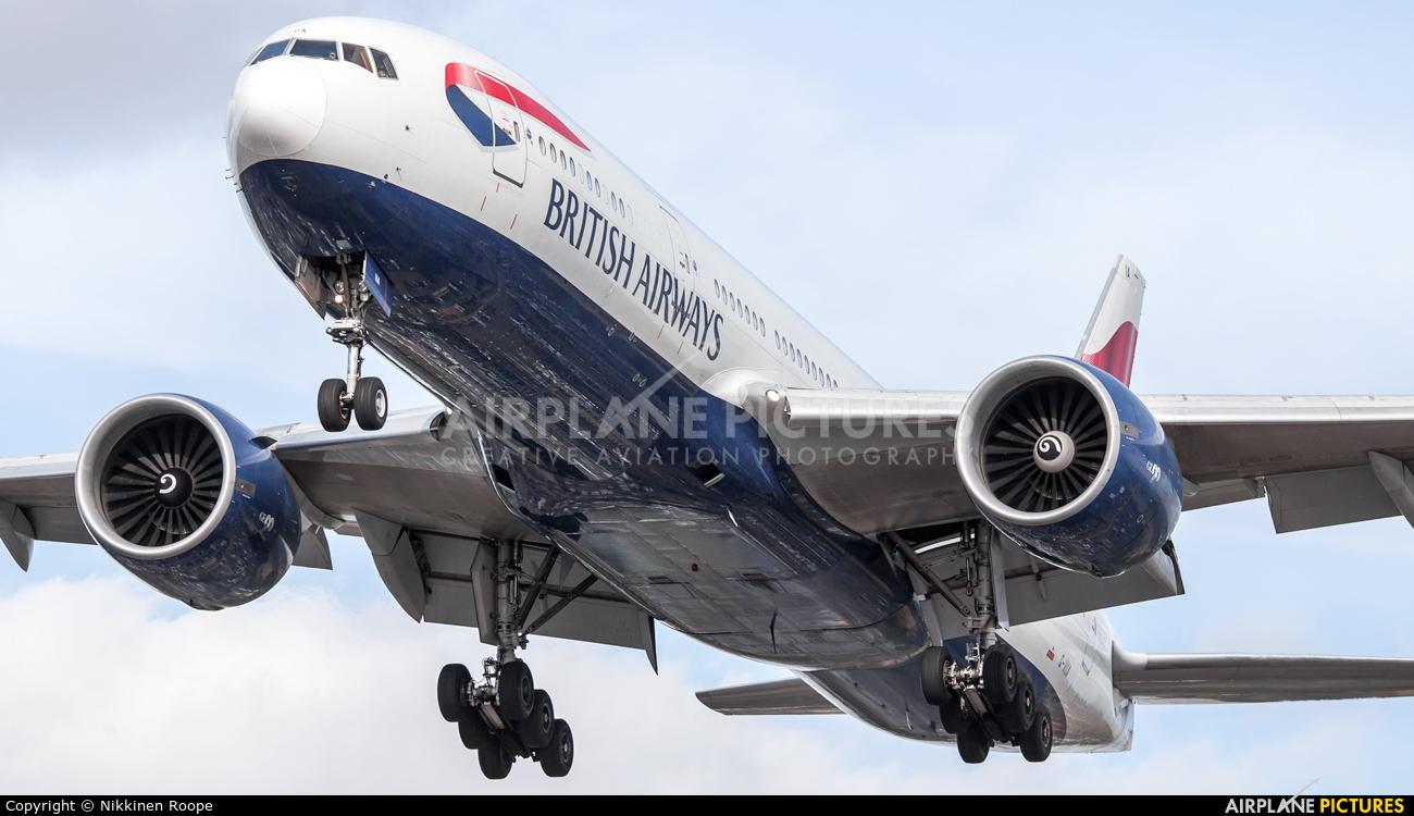 British Airways G-VIIA aircraft at London - Heathrow