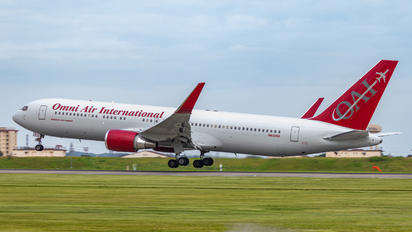 NX432AX - Omni Air International Boeing 767-300ER