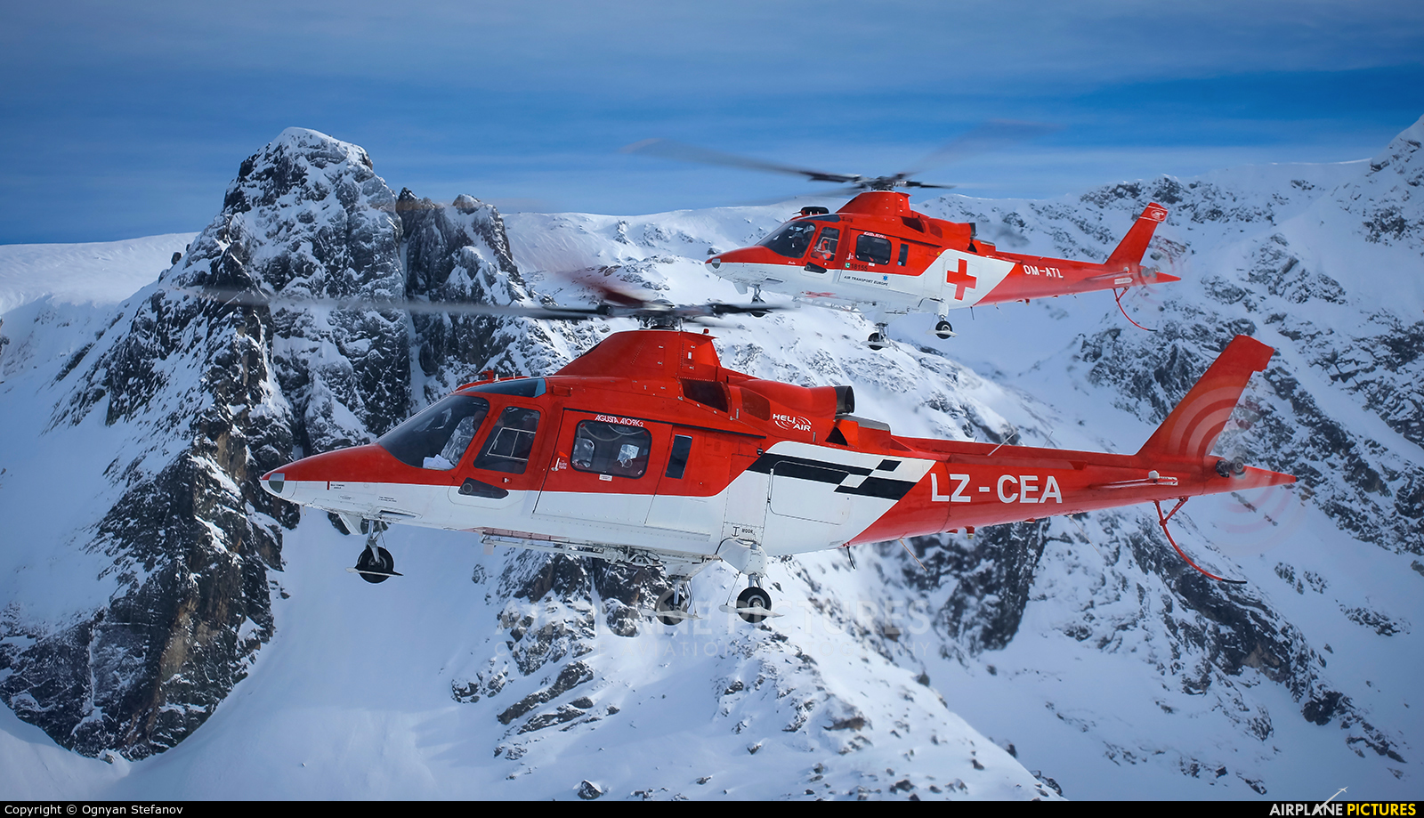 Heli Air Services LZ-CEA aircraft at In Flight - Bulgaria