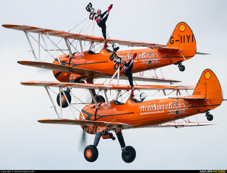 AeroSuperBatics N74189 aircraft at Duxford