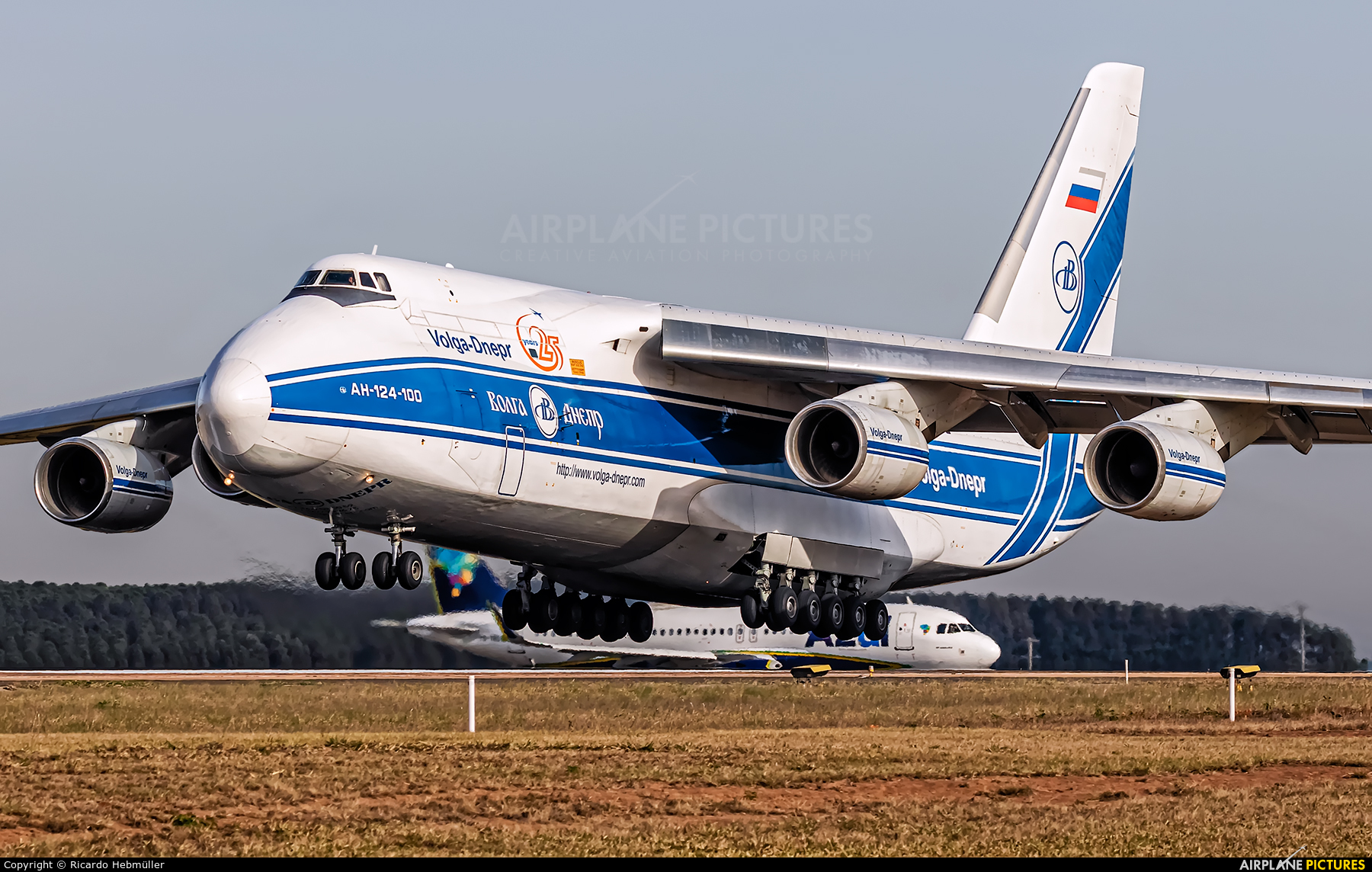 Volga Dnepr Airlines RA-82043 aircraft at Campinas - Viracopos Intl