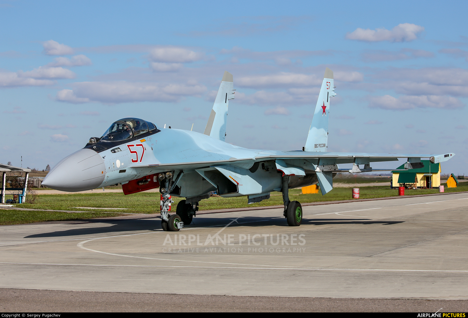 Russia - Air Force 57 aircraft at Undisclosed Location