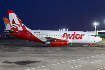 YV2794 - Avior Airlines Boeing 737-200