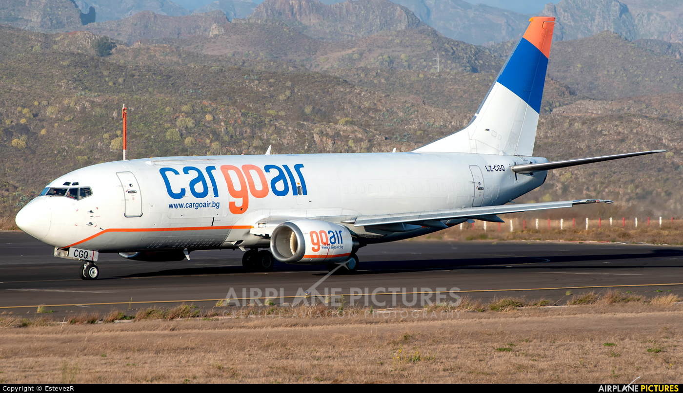 Cargo Air LZ-CGQ aircraft at Tenerife Norte - Los Rodeos