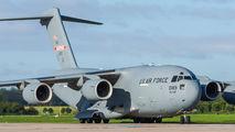 USAF Boeing C-17 visited Pardubice title=