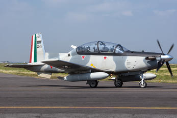 2045 - Mexico - Air Force Beechcraft T-6 Texan II