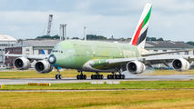 F-WWSO - Emirates Airlines Airbus A380 aircraft