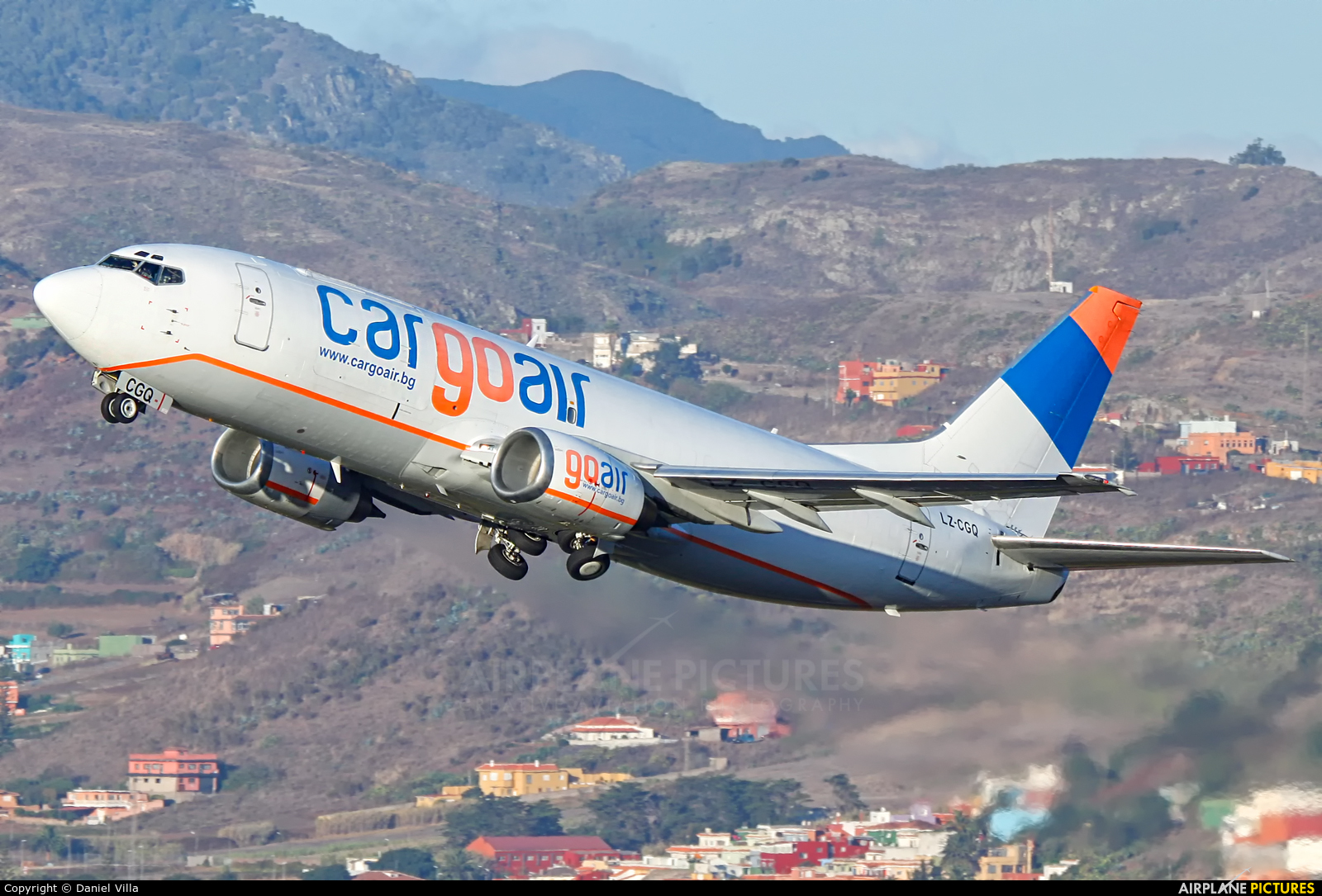 Cargo Air LZ-CGQ aircraft at Tenerife Norte - Los Rodeos
