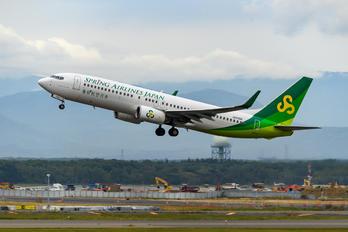 JA03GR - Spring Airlines Japan Boeing 737-800