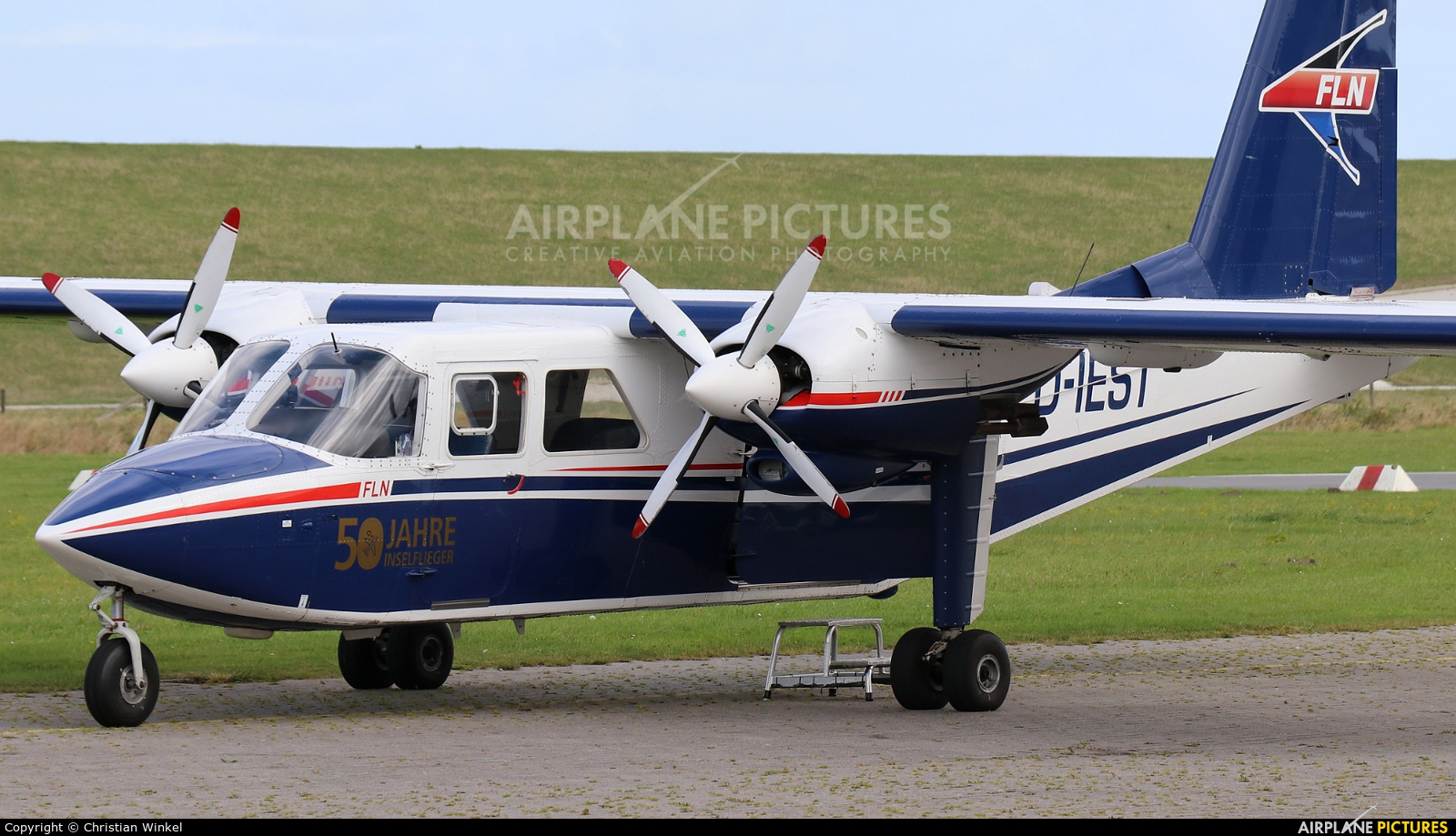 FLN Frisia-Luftverkehr D-IEST aircraft at Harle