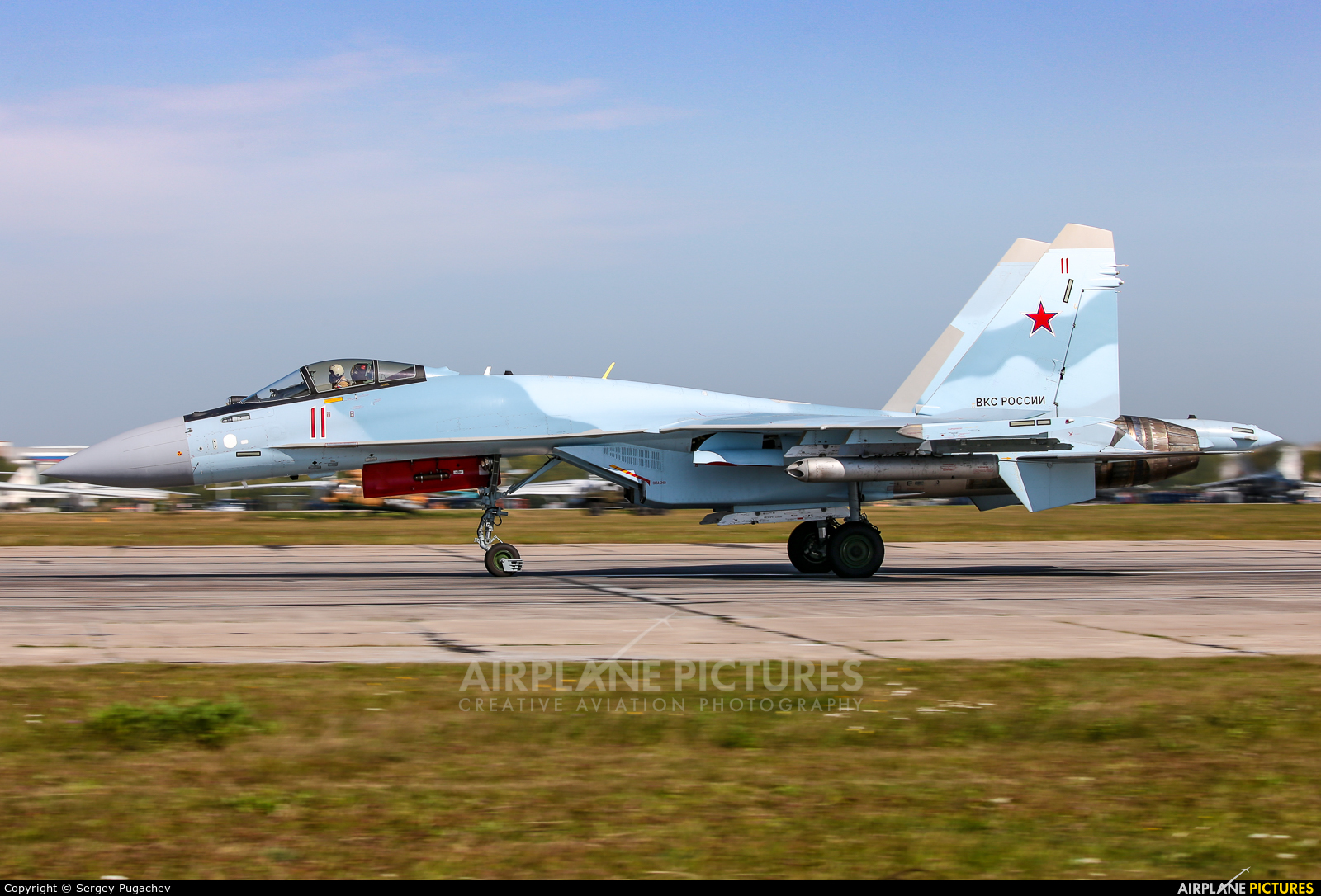 Russia - Air Force 11 aircraft at Undisclosed Location