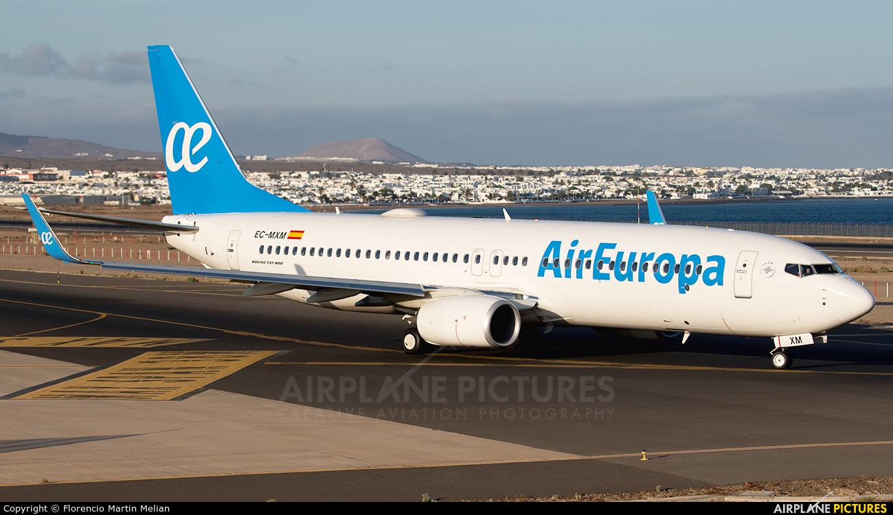 Air Europa EC-MXM aircraft at Lanzarote - Arrecife