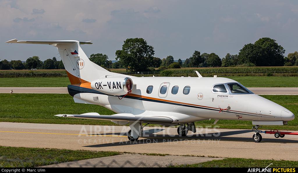 Private OK-VAN aircraft at Augsburg