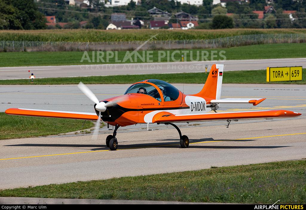 Private D-MDOK aircraft at Augsburg